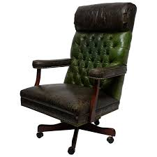 Vintage Black Leather And Oak 'Baker' Swivel Office Desk Chair For ... Edwardian Oak Swivel Desk Chair Bagham Barn Antiques Frontier Fniture Repair And Restoration Rocker Office Agio Patio Rocking Chairs Glider The Home Depot 2 Classic Poly Creek Amish Best Rated In Helpful Customer Reviews Amazoncom Ow Lee Classico Club Ding Jive Furnishings Glide Kaylee Barrel Arm Bronwyn Alloy Recliner Breegin End Table Atlas Portland Dressing Mirror Sleigh Back Mattress Store
