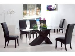 Contemporary Dining Room Sets Modern Table Glass Images
