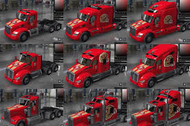 100 Tow Truck San Francisco 49ers NFL Team Skins Mod Euro Simulator