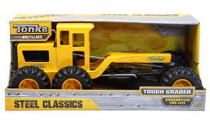 100 Steel Tonka Trucks Funrise Toy Classic Tough Grader Walmartcom