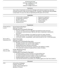 Modern Resume Sample Samples Human Resources Manager Contemporary Best Example No Experience Objective Examples Shocking