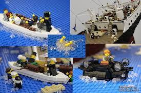 massive sinking lego titanic required 120 000 pieces to make nerdist