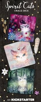 cats on deck spirit cats inspirational card deck by piar kickstarter