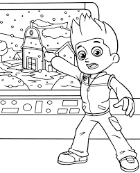 Paw Patrol Coloring Pages With Ryder