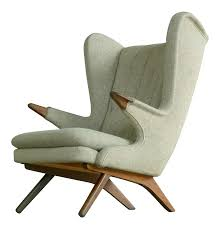 Hans Wegner Papa Bear Chair History by Sven Skipper 1960s Papa Bear Chair Model 91 In The Style Of Hans