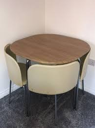 Dining Table & Chairs (Space Saving) In Langford For £75.00 For Sale ... Space Saving Kitchen Table And Chairs House Design Ipirations Saver Marvellous Classic Ikea Folding Ding Tables Surripuinet Spacesaving 4 Seater Ding Table Set In Blairgowrie Perth And Interior Sets With Next Day Delivery Room Set Value Compact 2 Seater Ideas 42 Inch Round Langford For 7500 Sale Of 3 Rustic Rectangular Benches 5 Pcs Wood W Storage Ottoman Stools Courtyard Costway Piece Dinette