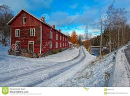 100 Ochre Home Traditional Red Painted Colour Wooden House Finland