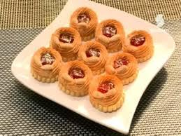 cuisine samira tv recette de gâteau les sablés aux roses algérie by samira tv