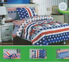 Twin Horse Bedding by Amazon Com Children U0027s Twin Size Patriotic Flag Print Bedding
