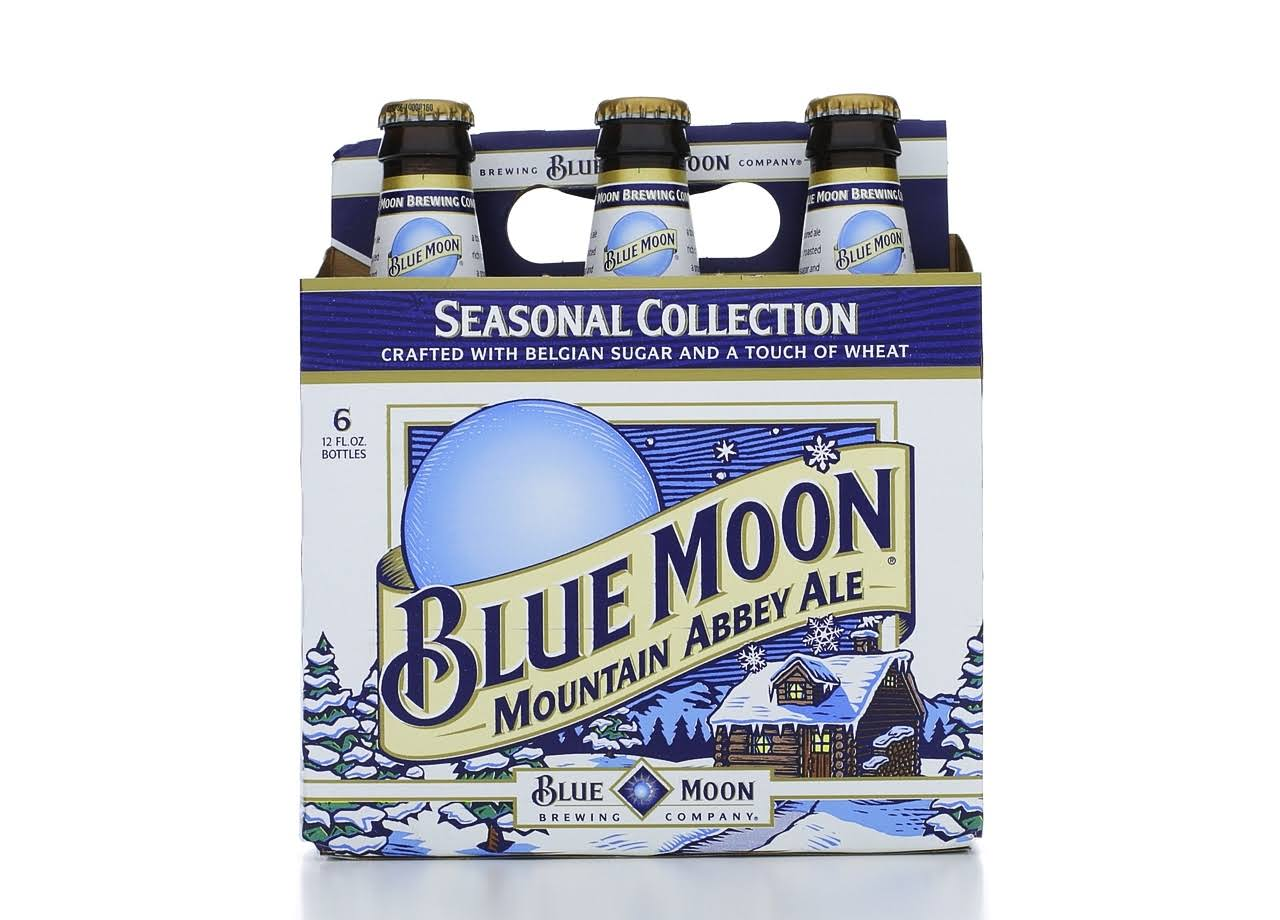 Blue Moon Beer, Wheat Ale, Summer Honey Wheat, 6 Pack - 6 bottles