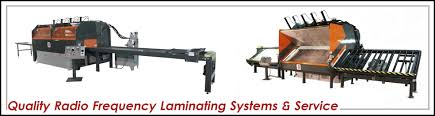 manufacturer of radio frequency laminating systems and service