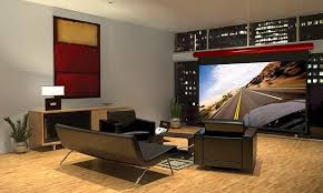 Drop Ceiling Mount Projector Screen by The Big Picture Projection Screen Basics Cnet