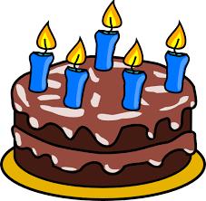 birthday cake clip art pictures