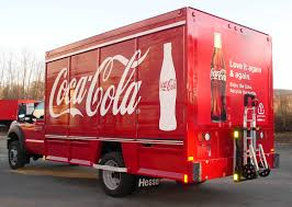100 Beverage Truck CocaCola Ford F350 Sideloader Beverage Truck With HTS Systems