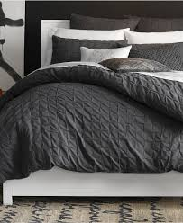 Kenneth Cole Reaction Bedding by Kenneth Cole Reaction Home Oxford Comforter In Grey Stripe 29