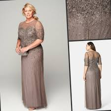 wedding dresses for mother of the bride plus size 2017