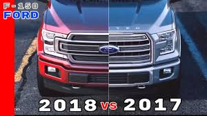 100 Ford Truck Grill 2017 Vs 2018 F150 YouTube
