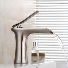 Kohler Bathroom Sink Faucets Single Hole by Kohler Katun Vibrant Brushed Nickel Single Lever Handle Bathroom