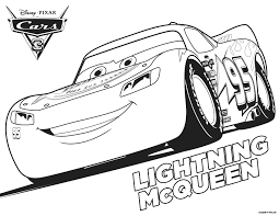 Cars 2 Coloring Pages Free Online Lightning Mcqueen Mater Full Size
