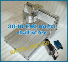 uk us delivery 3040 cnc router milling machine mechanical kit ball