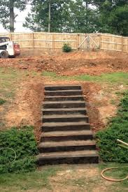 25+ Beautiful Landscape Stairs Ideas On Pinterest | Garden Stairs ... How To Prevent Basement Water Intrusion 25 Beautiful Landscape Stairs Ideas On Pinterest Garden Inground Pools Sloped Yard 5 Ways Build Pool Hillside Landscaping Small Hillside Landscaping Ideas On Budget Diy 32x16 Ish Pool Steep Slope Solving Problems Reflections From Wandsnider Trending Backyard Sloping Back Backyard Slope Land Grading Much You Need Near A House Best Front Yard