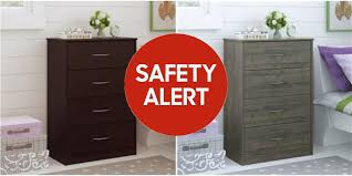 Target 4 Drawer Dresser Instructions by Ameriwood Dressers Recalled Due To Tipping Fears 1 6 Million