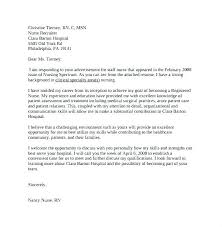 New Grad Resume Sample Cover Letter Example Nursing Examples Nurse Template Fresh