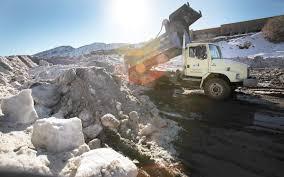 100 Dump Truck Storage City Council OKs Purchase Of New Snowstorage Site
