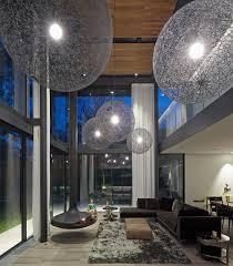 futuristisches wohnzimmer mit doppelter bild kaufen