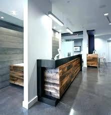 Contemporary Reception Desk Modern Hotel Design