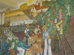 Coit Tower Murals Images by Another Day A Self Guided Walking Tour In San Francisco