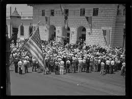 Calisphere Glendale Post fice dedication Glendale 1934