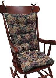 Klear Vu Tapestry Jumbo Rocking Chair Cushions