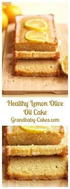 Healthy Lemon Olive Oil Cake
