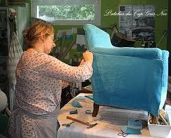 recouvrir un fauteuil club l atelier du cap gris nez