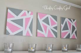 VIEW IN GALLERY Triangular Canvas Art