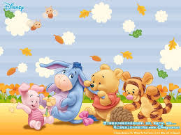 Wall Decal Winnie The Pooh by Winnie The Pooh And Friends Wallpaper Summer Winnie Pooh