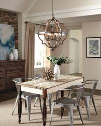The Transitional Socorro Lighting Collection By Sea Gull Features A Classic Barbed Quatrefoil Profile Dining Room