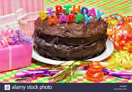 eine schokolade happy birthday kuchen mit happy birthday