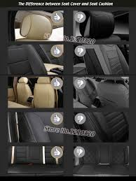 AUSFTORER Automobiles Seat Covers For Dodge Journey JCUV Cowhide ...