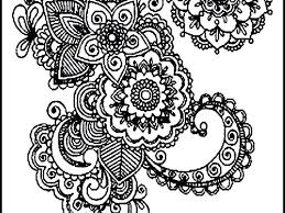 Coloring Pages Free Mandala For Adults Pdf Easy Online Pictures