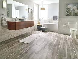 Grey Wood Tile Bathroom Floor And Decor Look Dumbfound Effect Tiles Distressed Porcelain Home Interior