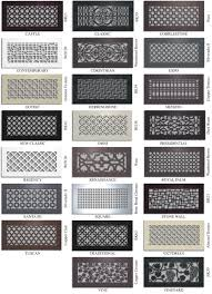 Floor Heater Grate Cover vent covers unlimited custom metal registers and air return