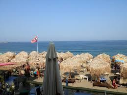 100 Molos Skyros Skyros Greece Beach View From Juicy Beach Bar