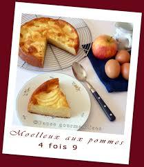 mesure cuisine sans balance moelleux aux pommes 4 x 9 sans balance pause gourmandises