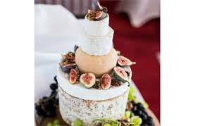 Wedding Cheese Cake With Figs