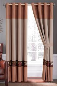 Sears Sheer Lace Curtains by Coffee Pattern Kitchen Curtains
