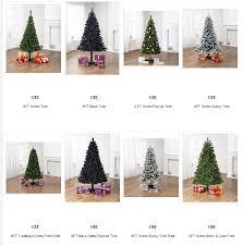 Pre Lit Slim Christmas Tree Asda by Gallery Of 6ft Black Christmas Tree Fabulous Homes Interior