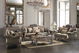 Furniture Traditional Living Room With Mirror And Clock Lamp Carpet Sofa