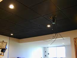 black drop ceiling tiles ideas new basement and tile